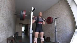 ХАРДГеЙНЕР ПРИСЕДАЕТ 160 КГ НА 7
