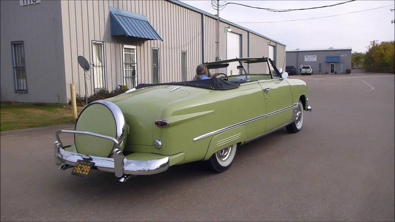 1950 Ford Custom Convertible For