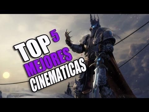 TOP 5  LAS MEJORES CINEMÁTICAS DE LOS VIDEOJUEGOS