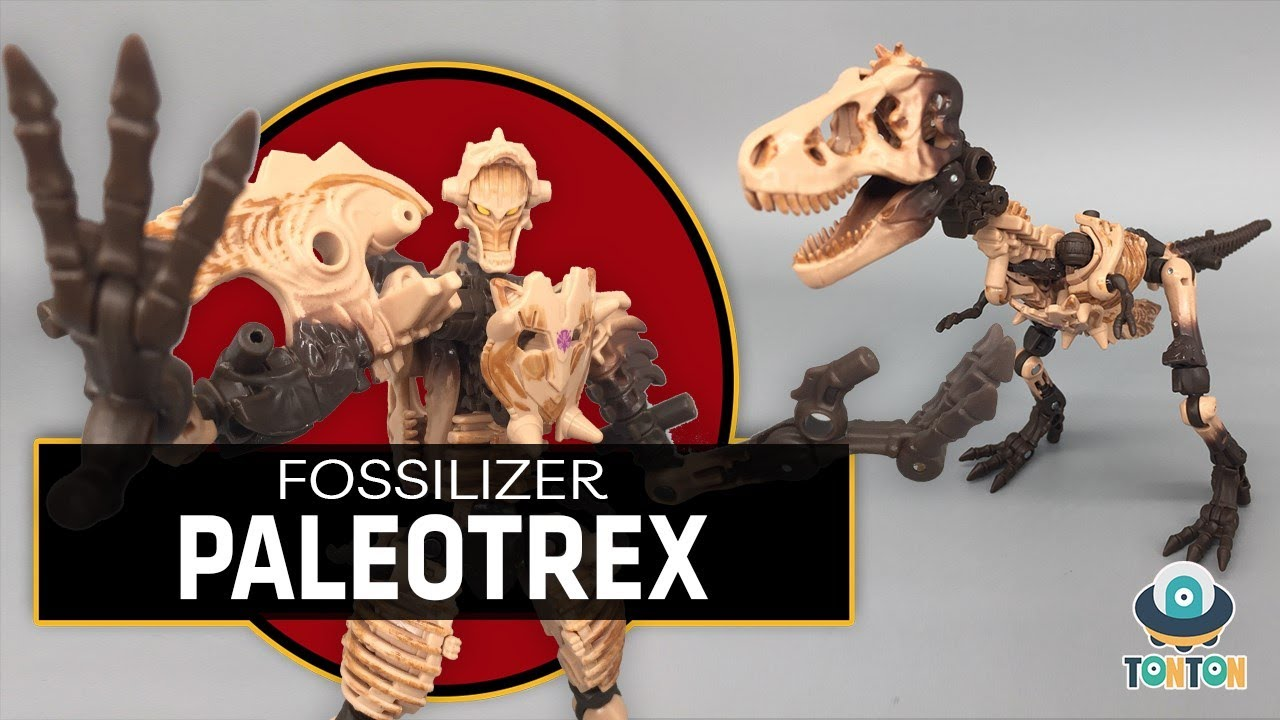 Transformer WFC Kingdom Deluxe Fossilizer Paleotrex by TonTon Review