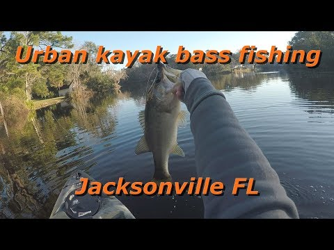 Urban Kayak Bass Fishing Jacksonville FL