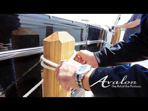 14)Docking Part 3  | 2017 Avalon Luxury Pontoons