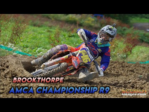 BROOKTHORPE AMCA Championship | Round 9 MX2 - Better late than never
