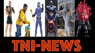 TNINews: Marvel Legends Toxin, New Marvel SH Figuarts, UFC Figures, Jurassic World And More