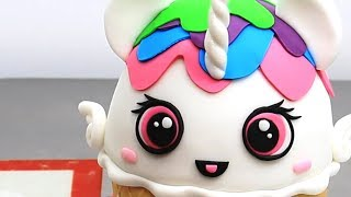 My Little Pony ICE CREAM Cake Princess Celestia Rainbow Unicorn KAWAII Cake