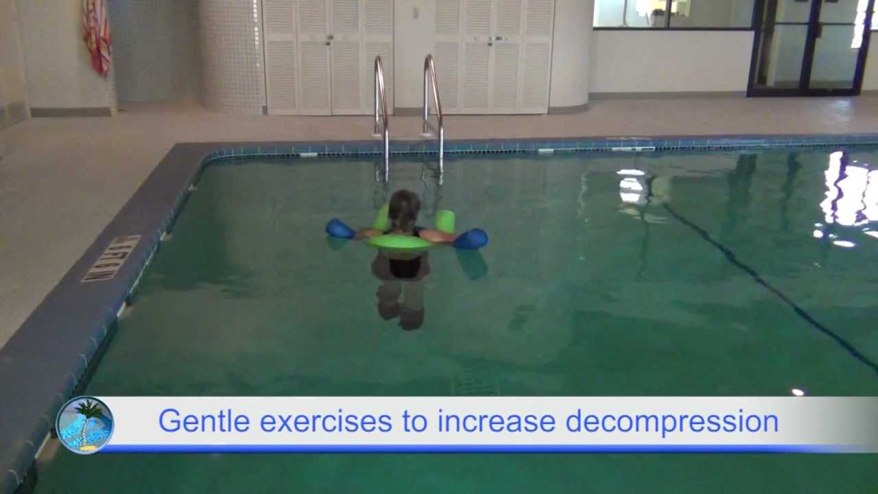 Relieve Back Pain From Slipped Or Herniated Discs With Aquatic Physical Therapy In Sarasota Florida