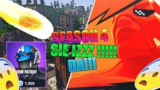[🔴LIVE] Fortnite Battle Royale💪Season 4 IZZ DA +Steam Key Giveaway to 1.050!💪Duo/abo.. [GER] [PC]💪