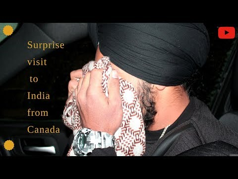Surprise Visit to India from Canada || On Sister marriage (Full Video) || punjab 2018