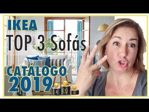 ikea-top-3-sofas-🏆-catalogo-2018-2019.-😍-tips-comprar-en-ikea.-decoración-de-interiores.