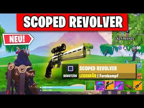 Scoped Revolver Gameplay, Patch Notes Und Alle Neuen Map Änderung | Fortnite Season 7 Deutsch