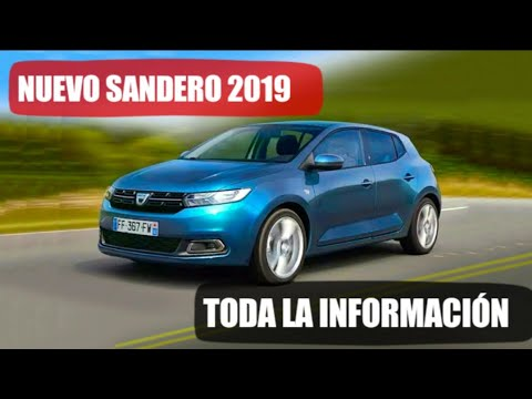 dacia sandero 2019 toda la informaci n youtube. Black Bedroom Furniture Sets. Home Design Ideas