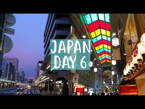 Japan Vlog | Day 6 | Kyoto and Nishiki Market