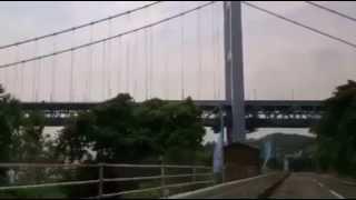 久しぶりに児島に行きました。瀬戸大橋を撮影しました 釣りバカ日誌のロ...