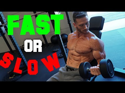Muscle Growth: Fast Reps vs. Slow Reps- Thomas DeLauer