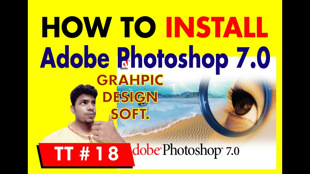 How to design a poster in photoshop 7.0