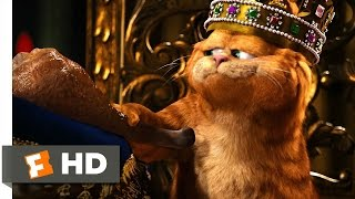 "Garfield: A Tail of Two Kitties (2/5) Movie CLIP - Just Call Me ""Your Highness"" (2006) HD"