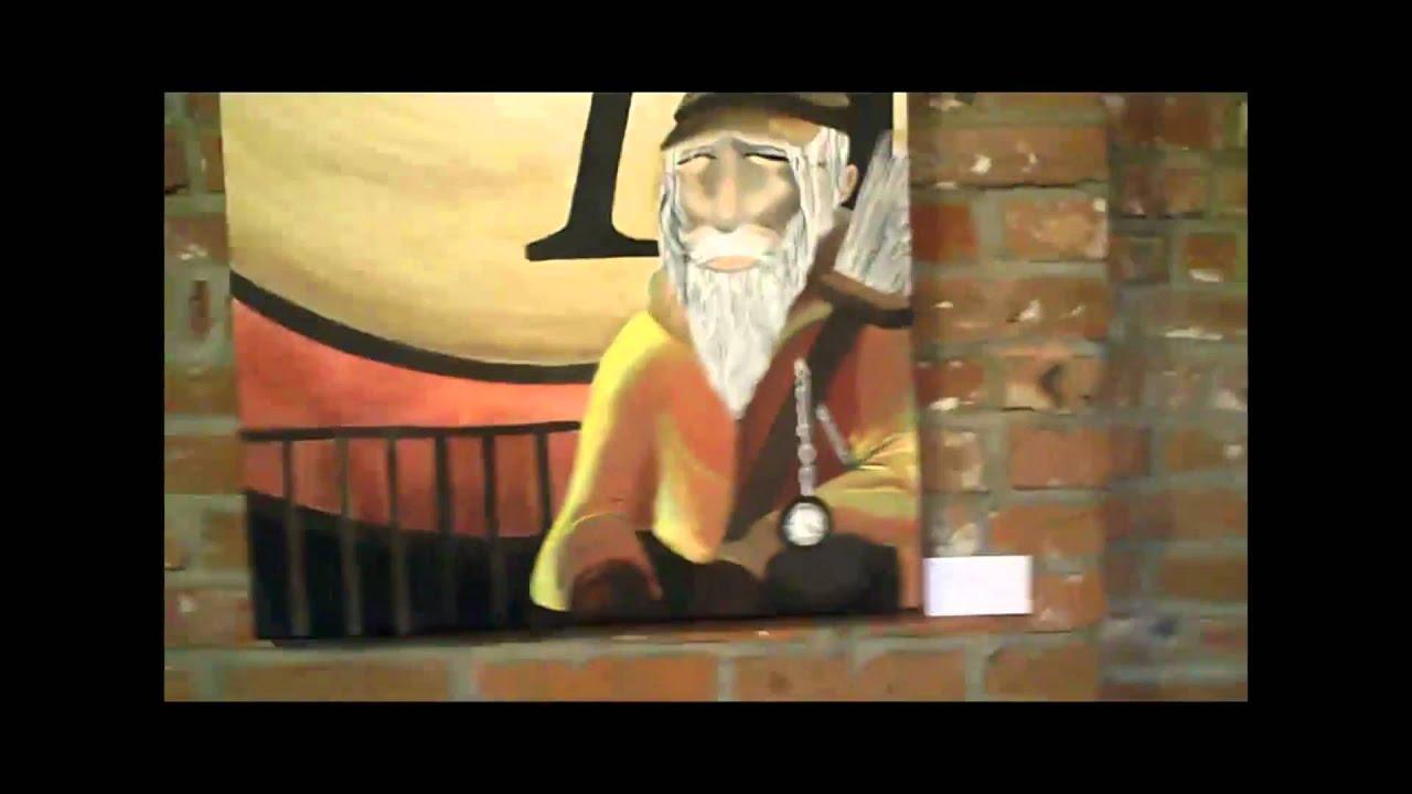 Kelly Art Studio show @ Soulard Coffee Garden Jan. 2011 2nd - YouTube