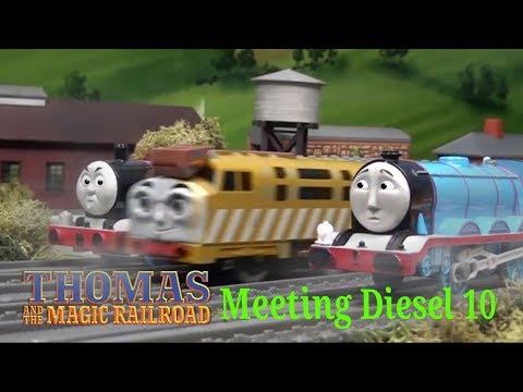 Thomas and Gordon meets Diesel 10 Remake | Unfinshed Business! | Thomas and the Magic Railroad