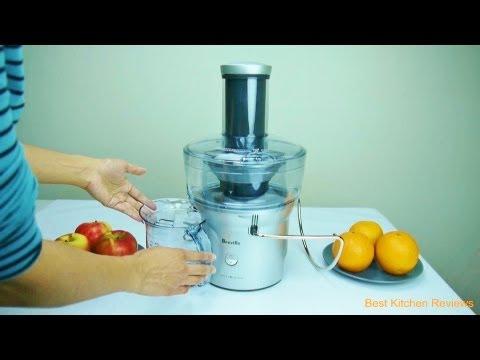 Breville Bje200xl Juicer Compact Juice Fountain 700 Watt