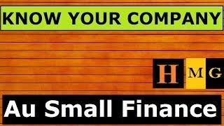 Au Küçük Finans Bankası. (Hintçe) | Pazarlar Guruji tarafından şirketinizi