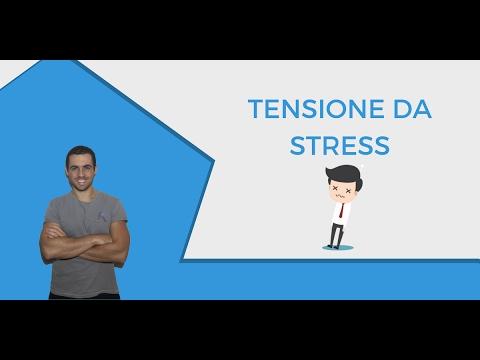 Tensione muscolare da ansia e stress