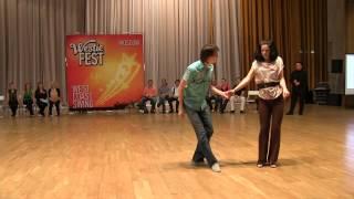 Jnj Intermediate Finals — Evgeny & Nadezhda. Moscow Westie Fest 2013