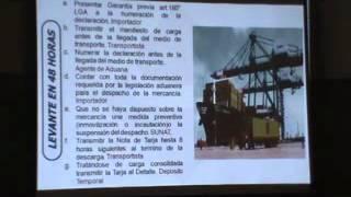 Conferencia Sobre Aduanas (Fac Derecho Y Ciencia Política UNFV. Perú.Lima)