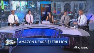 Amazon nears $1 trillion market cap, here's how to play it