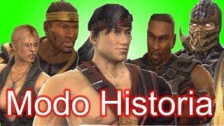 Mortal Kombat 9 - Modo historia (Capitulos 2, 3, 4, 5 y 6)
