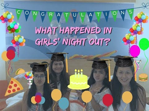 GIRLS' NIGHT OUT AT HOP INN HOTEL