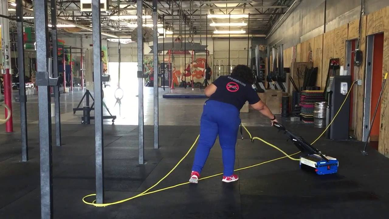 Rubber floor mats workout - Maid Masters How To Clean Crossfit Gym Rubber Floor Mats