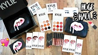 HUGE KYLIE COSMETICS HAUL!! LIPKITS, KYSHADOW, AND MORE!