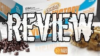 Iss Oh Yeah! Victory Protein Bar Review Choc Chip Cookie Dough