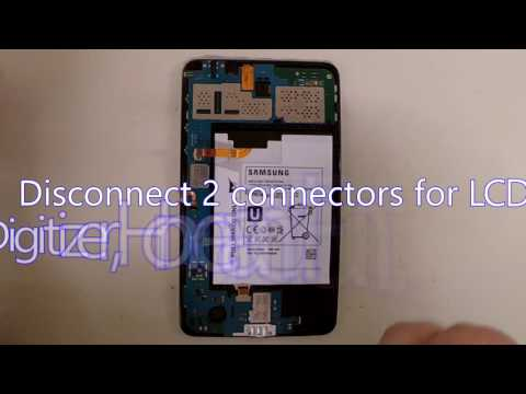 Samsung Galaxy Tab 4 SM-T230NU Disassembly for Motherboard or Battery Replacement