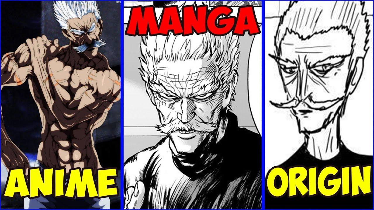 One Punch Man Anime Vs Manga Vs Webcomic One Vs Murata Youtube