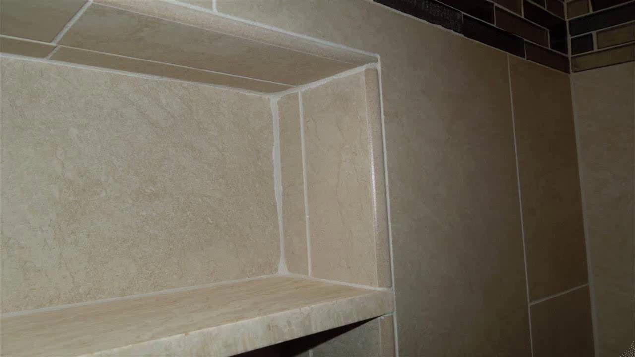 bathroom tile edging ideas