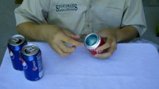 How To Make An Alcohol Stove By Aluminum Beverage Cans 飲料罐酒精爐製程