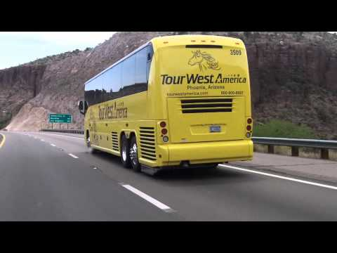 TOUR WEST AMERICA BUS ~ OUT OF PHOENIX and YUMA