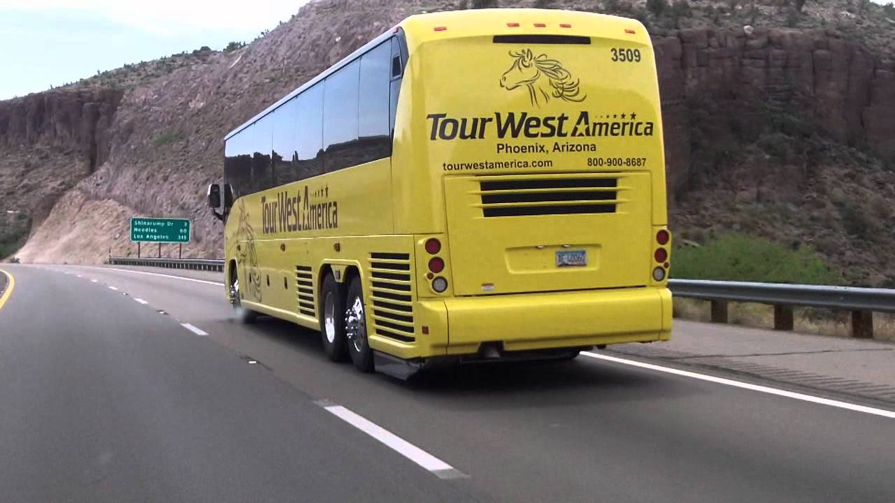 TOUR WEST AMERICA BUS OUT OF PHOENIX And YUMA YouTube - Bus tours usa