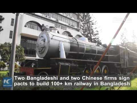 Chinese firms to build railway for Bangladesh with Bangladeshi companies
