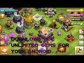 Download Clash of Clans Cracked APK Unlimited GEMS