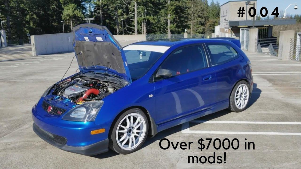 Track Built Daily Driven Civic Si Mod List 2005 Honda Ep3 Sit Down 004