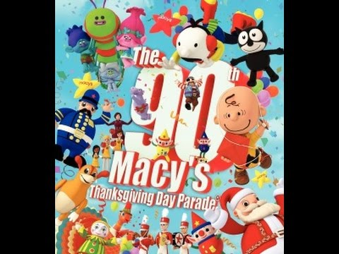 WHO IS GONNA WATCH THE 90th MACYS DAY PARADE 11/24/2016??