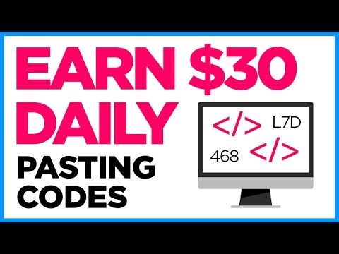 Earn $30 Daily To Paste Codes On Websites - Lazy Money