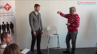 владимир Маринович о том, как продавать на выставках