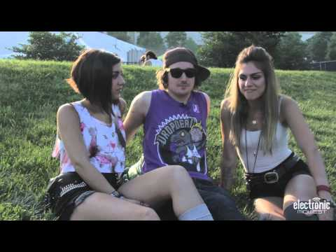 Krewella Interview at Spring Awakening Music Festival