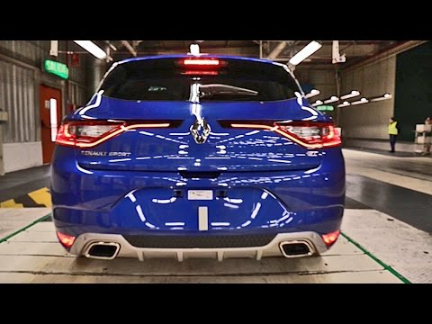 ► 2016 Renault Mégane 4 - PRODUCTION
