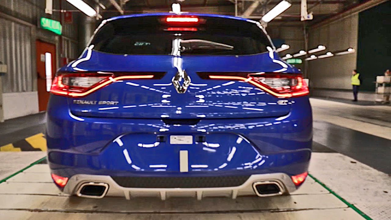Renault Mégane 4 (2016) PRODUCTION - YouTube