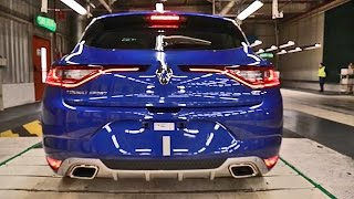 Renault Mégane 4 (2016) PRODUCTION