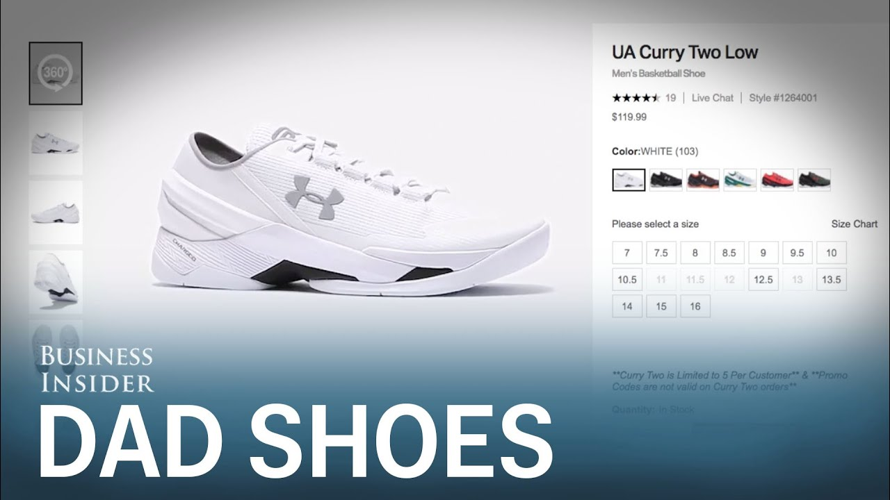 The story behind Steph Curry s all-white  dad shoes  that blew up the  internet 590c325cd